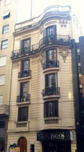 Apartment building off Avenida Santa Fe in Recoleta